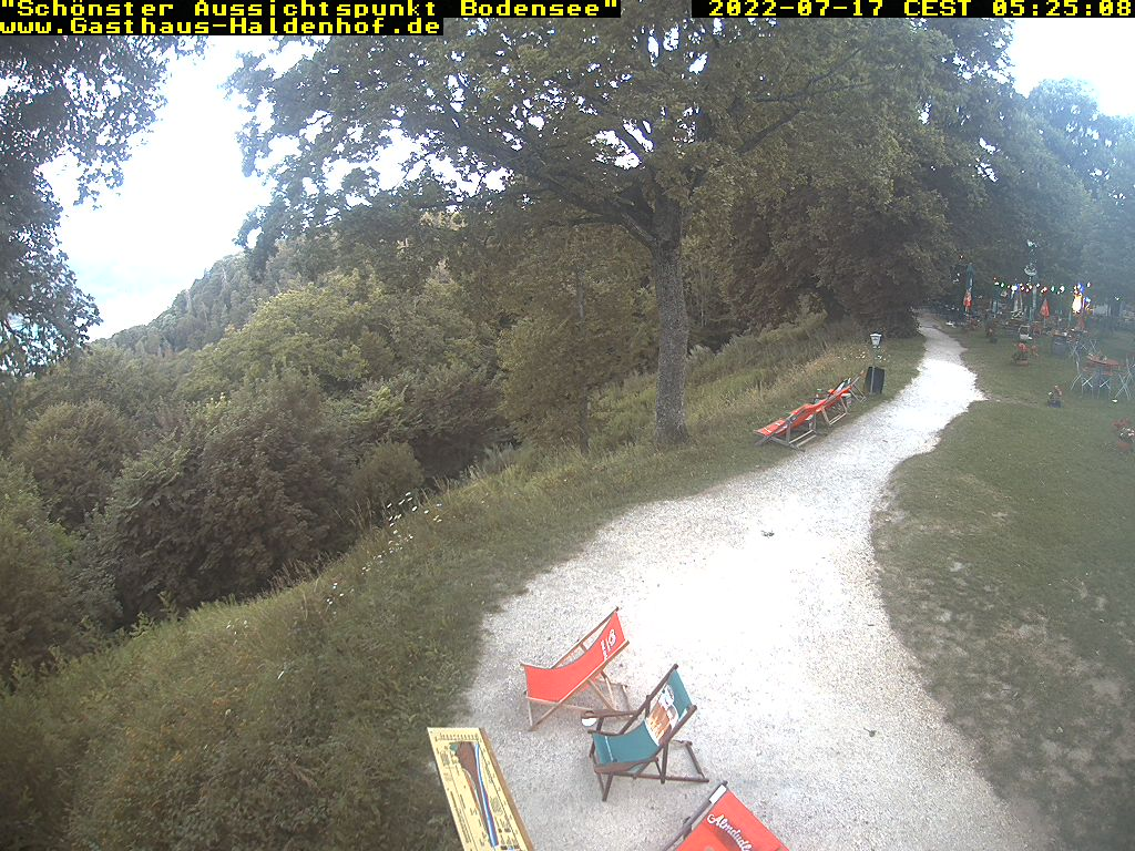 Aktuelle Fotos der Webcam am Haldenhof